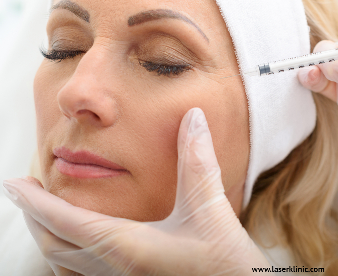 Botox injecting Procedure